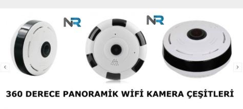 Kablosuz panoramik kamera satışı yapan yerler