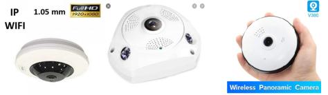 Panaromik kablosuz ip kamera tavsiyesi